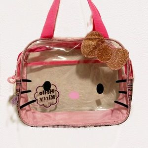 Hello Kitty clear 90's bag